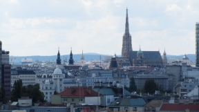 View from the pariser wheel