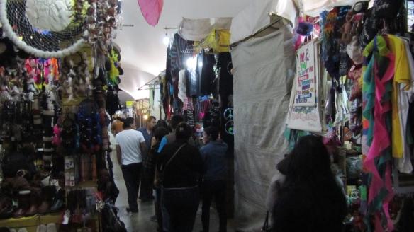 the big bazaar in coyoacan