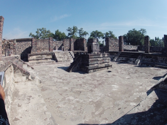 Archeological site in teotihuacan, Atetelco
