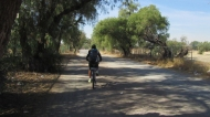 Biking around the teotihuacan-area with Jorge, my guide