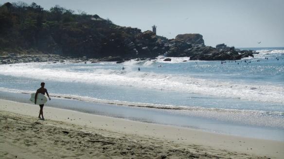 La punta, Puerto Escondido