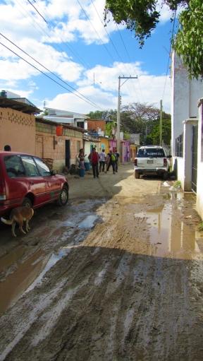 A street of Chiapa de Corzo