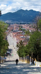 View from the church of Guadalupe, San Cristobal