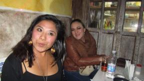 Erika and Susana