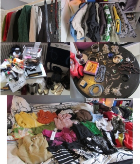 Some of the stuff I tried to sell on my flea market