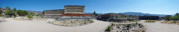 Panorama of Mitla