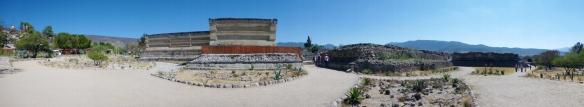 Panorama of Mitla