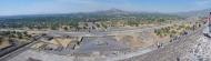 Panorama from Piramide del Sol