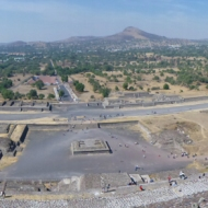 Panorama from Piramide del Sol