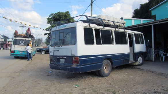 The bus we went with for 5 hours on the bumpy road...