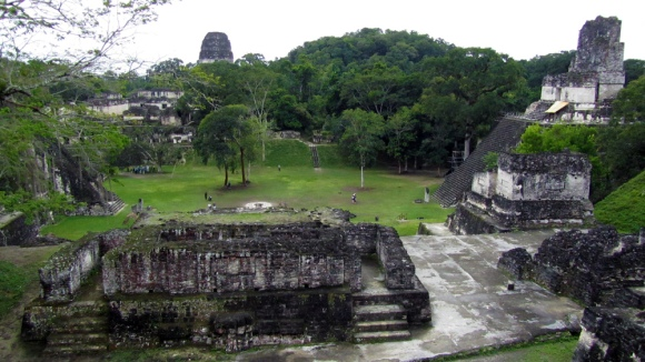 Ruins from one side
