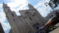 The cathedral of Merida