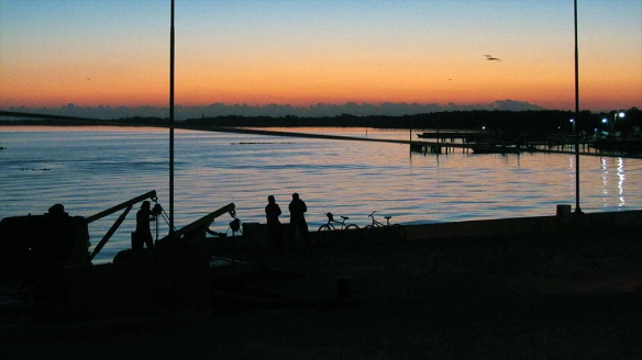 Sunrise in Chiquila