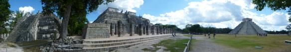 Panorama view of Chichen Itza