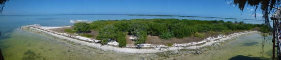 panorama island of the birds