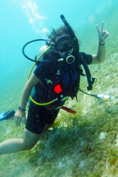Me underwater