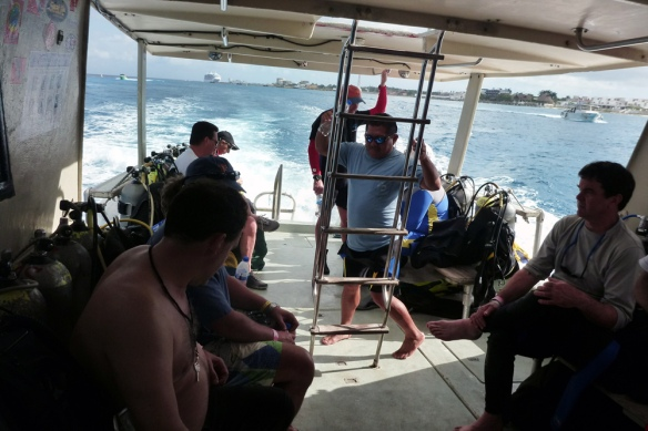Boat dive with Aqua Safari
