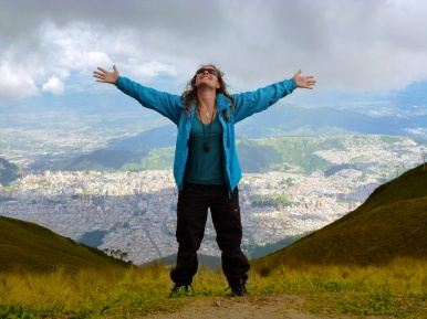 I feel all mighty at the height of the clouds! ;)