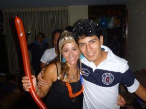 Me and Samuel during la hora loca!