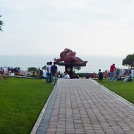 Panorama over the park