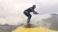 Surfing the waves of Peru!