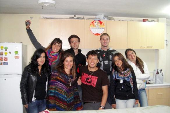 El grupo vacan! Haha :) Carla, Me, Kevin, Gisela, Mariel, Dale, Alberto y Dafny