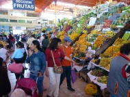 The fruit market inside San Camilo.... love it