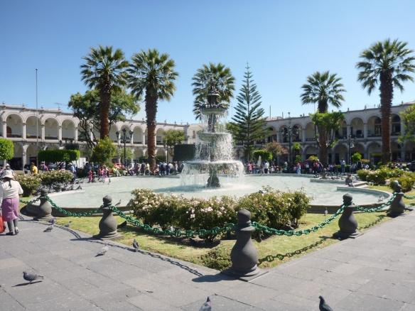 Plaza de Armas, lovely!