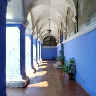 A plaza inside the monastery