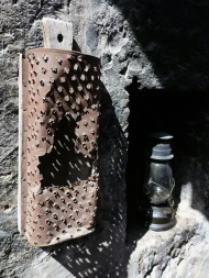 An old grater.. it's fascinating how they did all this stuff a few hundreds years back...