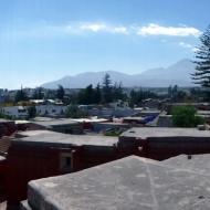 Panorama view from the monastery of Santa Catalina