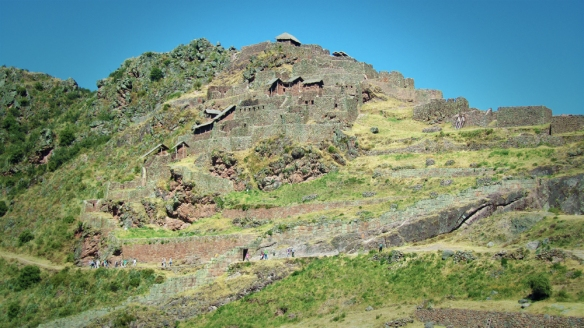 Temples and residences in Pisac