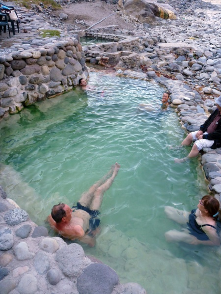 Thermal baths in Chivay