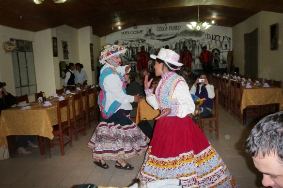 Folkloric event in Chivay