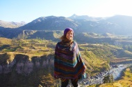 Cold morning in the colca valley