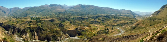 Panorama over the Colca Valley... beautiful!!