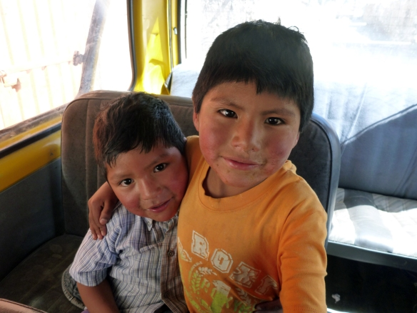 Two lovely brothers who I shared ride with from Canocota.