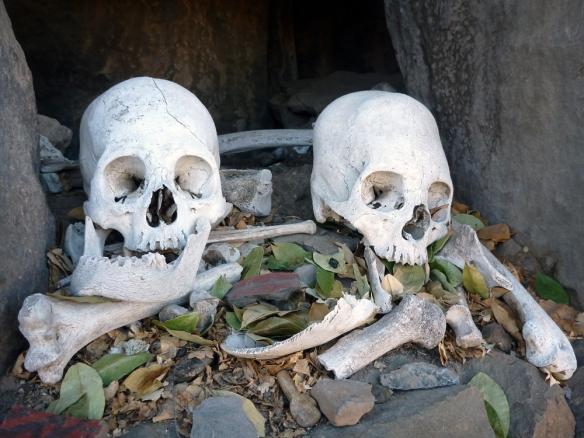 Some skeletons in San Antonio