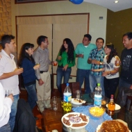 birthdayparty guests