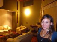 At Sandras place... beautiful big house!