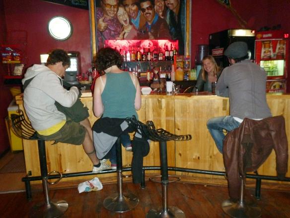 Hanging out at the Pariwana bar.. :)