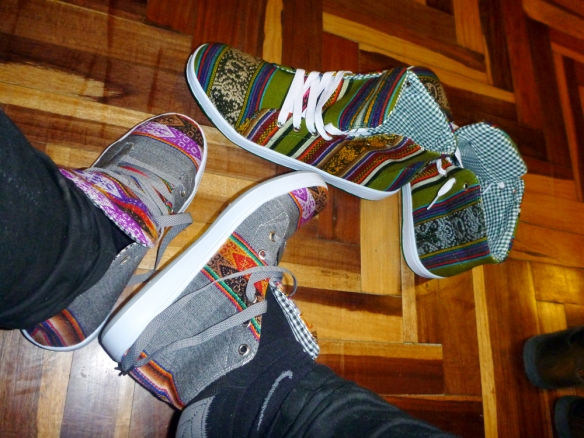 Shoes for me and Duilio ;)