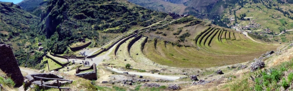 Panorama from the temples over Pisac