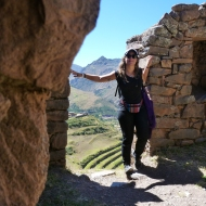 In the ruins of Pisac
