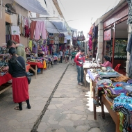 The market in Pisac