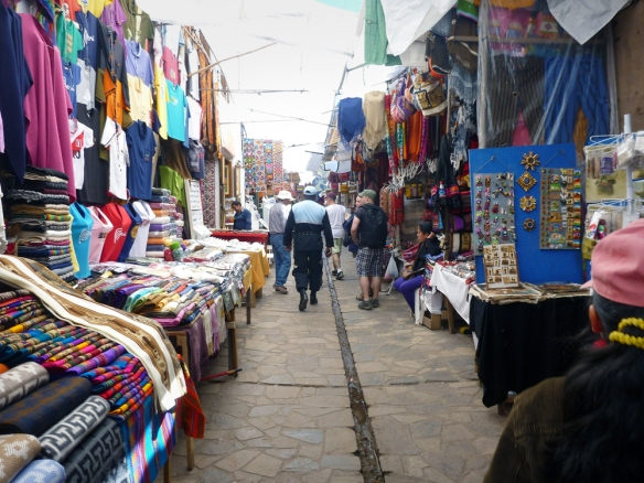 The market of Pisac