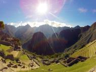 Wonderful day at Machu Picchu!