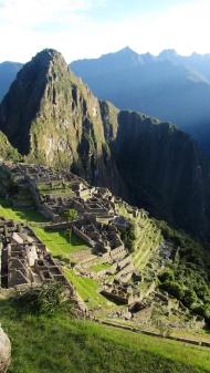Goodmorning Machu Picchu!