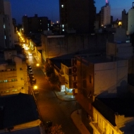 Av. 25 de mayo.. From our balcony