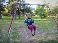I love swings!